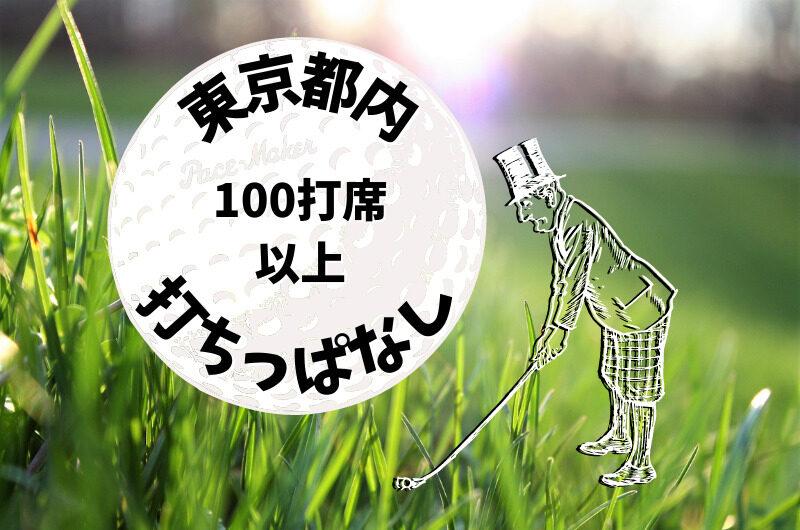 東京都内|ゴルフ「100打席以上打ちっぱなし練習場」おすすめ7選
