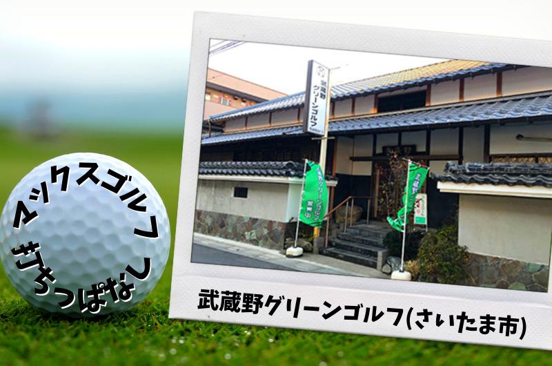 武蔵野グリーンゴルフ さいたま市内ゴルフ「打ちっぱなし練習場」