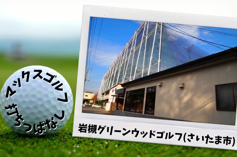 岩槻グリーンウッドゴルフ さいたま市内ゴルフ「打ちっぱなし練習場」