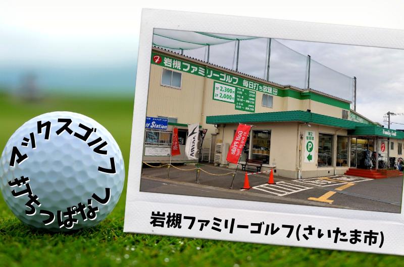 岩槻ファミリーゴルフ さいたま市内ゴルフ「打ちっぱなし練習場」