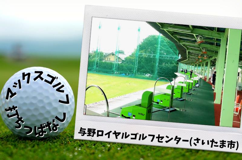与野ロイヤルゴルフセンター さいたま市内ゴルフ「打ちっぱなし練習場」