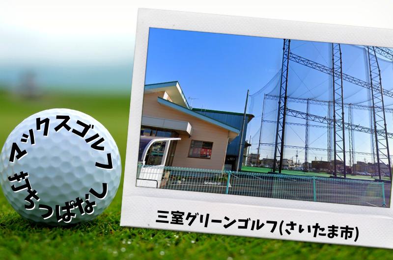 三室グリーンゴルフ|さいたま市内ゴルフ「打ちっぱなし練習場」