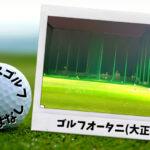 ゴルフオータニ(大正区)|大阪市内ゴルフ「打ちっぱなし練習場」