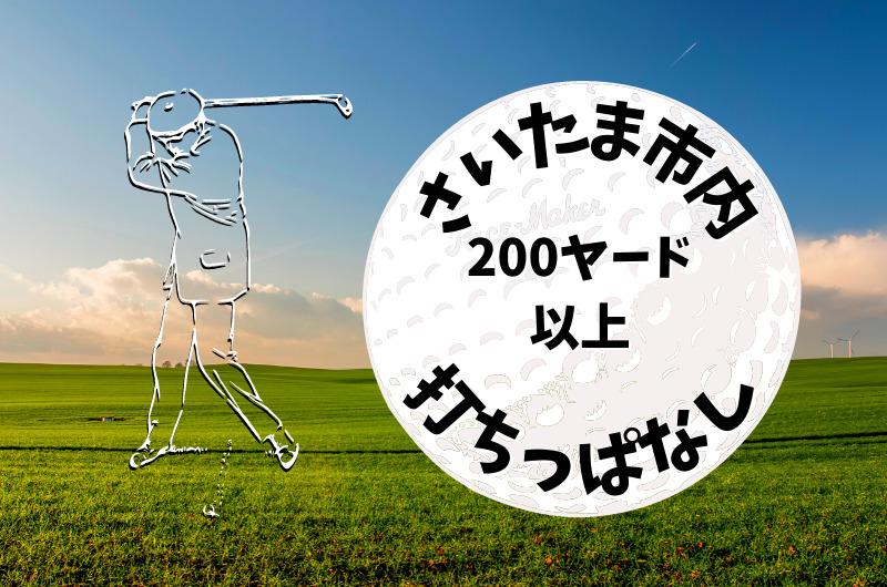 さいたま市内|ゴルフ「200ヤード以上打ちっぱなし練習場」おすすめ7選